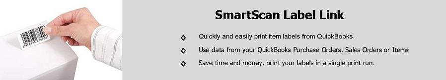 SmartScan - Quickbooks Barcode - Barcode Quickbooks | Label Link